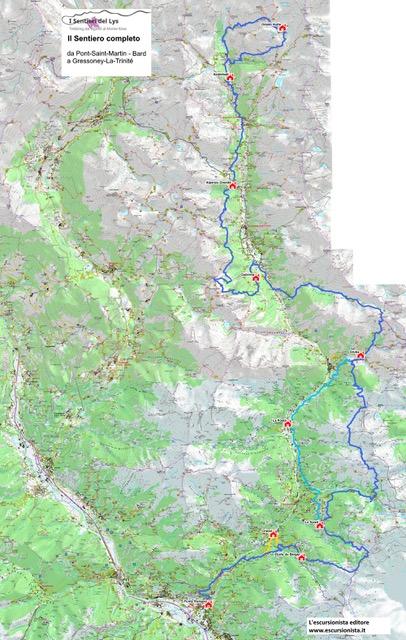 Sentieri del Lys - Località Barme - 11020 Fontainemore (AO)